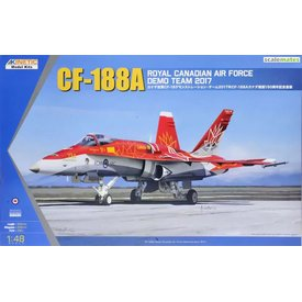 KINETIC CF-188A RCAF DEMO TEAM 2017 1:48 RED'Canada 150'