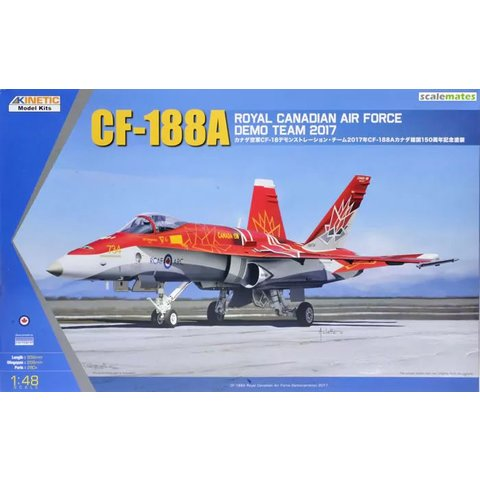CF-188A RCAF DEMO TEAM 2017 1:48 RED