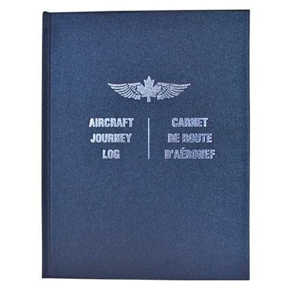 Aircraft Journey Log Hardcover