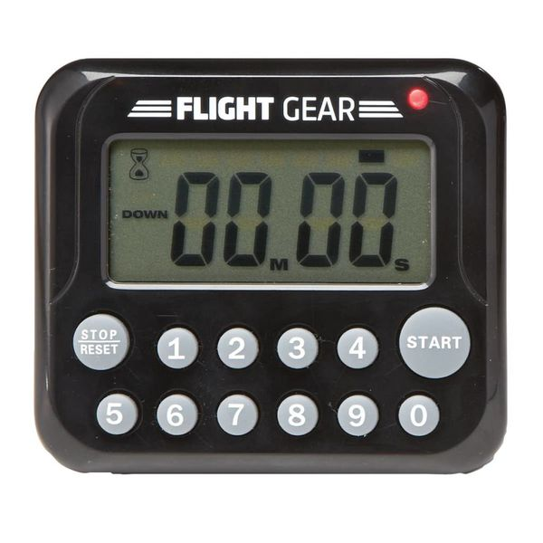Flight Gear by Sporty's Flight Gear Timer