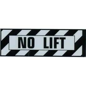 Aircraft Placard No Lift