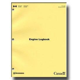 Transport Canada Aircraft Technical Log: Engine Log softcover*NEW*