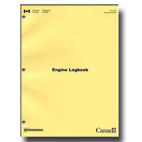 Aircraft Technical Log: Engine Log softcover*NEW*