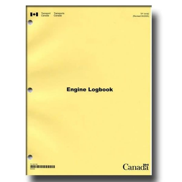 Transport Canada Aircraft Technical Log: Engine Log