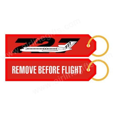 KEY CHAIN RBF 727 REMOVE BEFORE FLIGHT