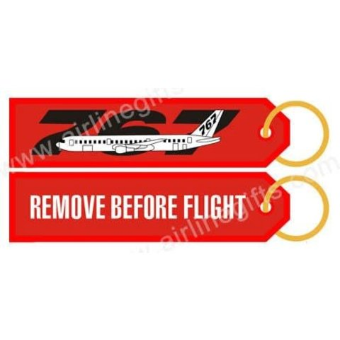 KEY CHAIN RBF 767 REMOVE BEFORE FLIGHT