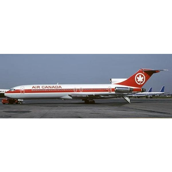 JC Wings B727-200 Air Canada (Red Stripe Livery) C-GYNE 1:200 With Stand
