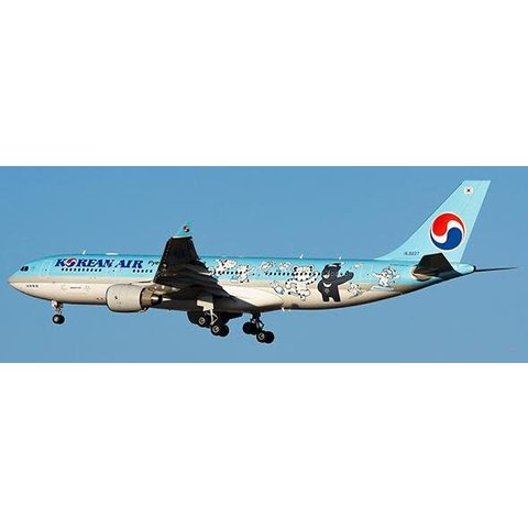 A330-200 Korean Air Pyeong Chang 2018 HL8227 1:200 with stand