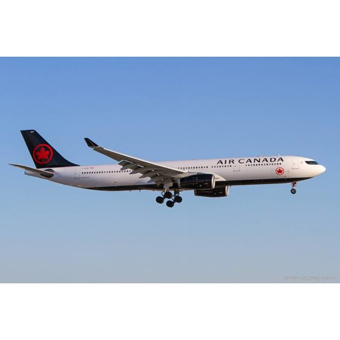A330-300 Air Canada New Livery 2017 C-GFAF 1:200 with stand