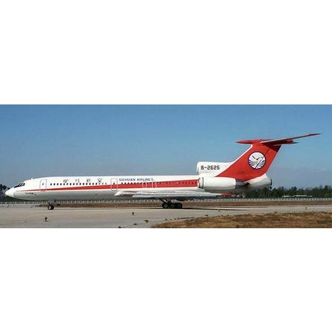 TU154M Sichuan Airlines B-2625 1:200 With Stand