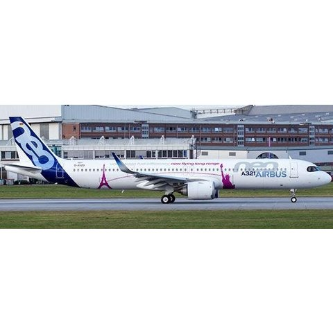 A321neo Airbus House livery Unbelievable Fuel Efficiency D-AVXA 1:400 W/Antenna