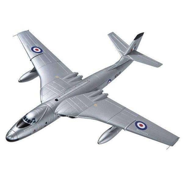 Corgi Valiant B1 207 Squadron WZ404 RAF Luqa Malta Suez Crisis 1956 Silver 1:144 with stand