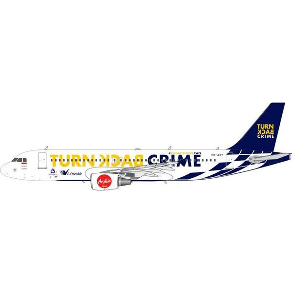 Phoenix A320 Air Asia Indonesia Crime 1:400