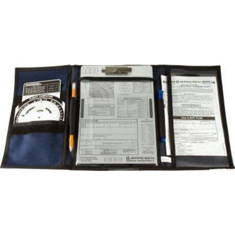 VFR Tri-fold Kneeboard with Clipboard (Jeppesen)