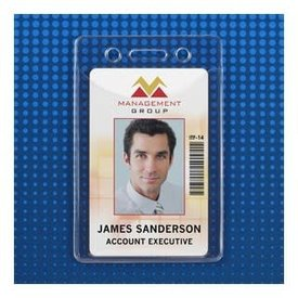 Id Holder Soft Vinyl Vertical