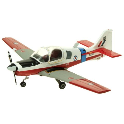 Bulldog Royal Air Force XX513 10 red/white 1:72 with stand