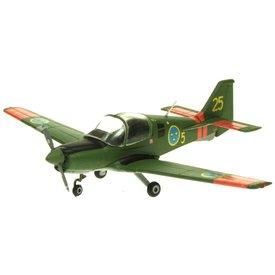 AV72 Bulldog SK61 Swedish Air Force AF 5-25 Green/Orange 1:72 with stand **o/p**