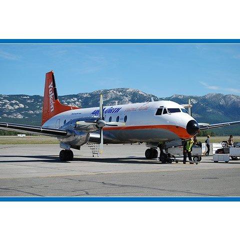 HS748 Air North Yukon C-FYDU 1:200 with stand