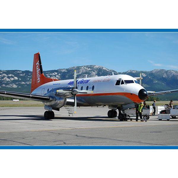 Gemini Jets HS748 Air North Yukon C-FYDU 1:200 with stand