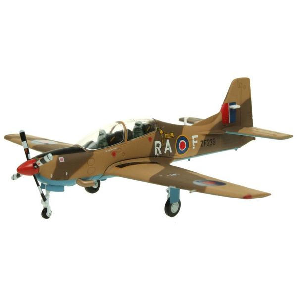 AV72 Tucano T1 Royal Air Force Display Team 2013 Camouflage ZF239 RA-F 1:72 with stand