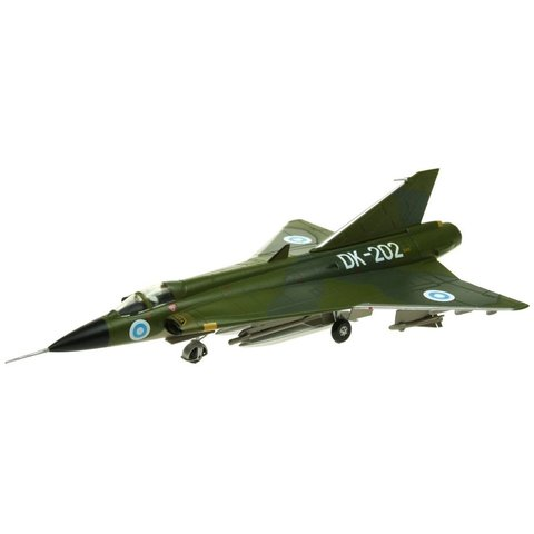 J35 Draken Finnish Air Force DK-202 Camo 1:72 with stand