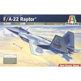 Italeri F22 RAPTOR 1:48 SCALE KIT