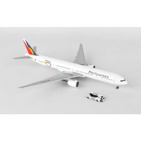 B777-300ER Philippines 75th Anniversary RP-7773 1:400 with tug