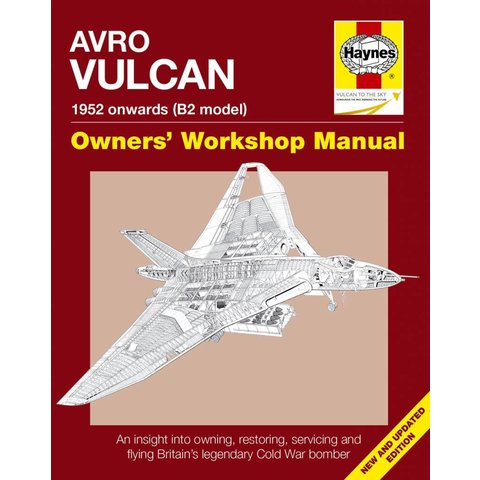 Avro Vulcan: Owner's Workshop Manual hardcover