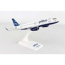 SkyMarks A320S Jetblue High Rise 1:150 with stand