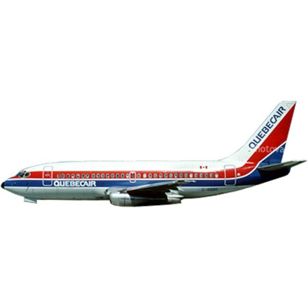 AeroClassics B737-200 Quebecair LN-BRL 1:400