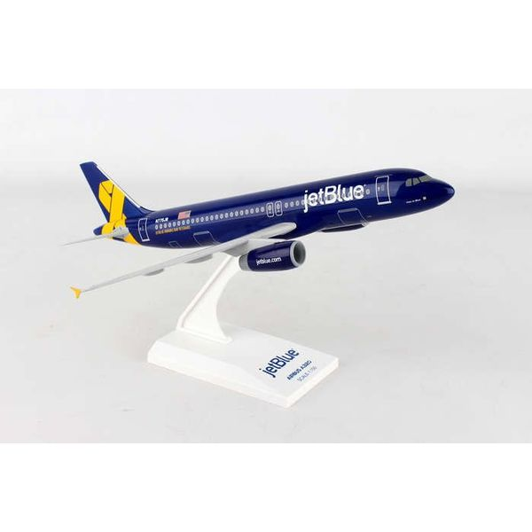 SkyMarks A320 jetblue Veterans Yellow Ribbon 1:150 with stand