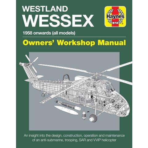 Westland Wessex: Owner's Workshop Manual HC