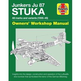 Haynes Publishing Junkers Ju87 Stuka: Owner's Workshop Manual HC