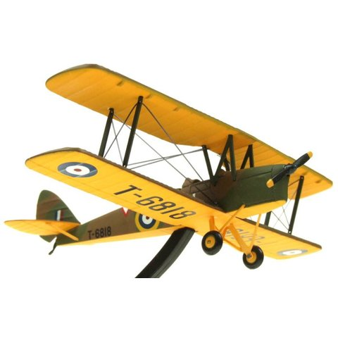 DH82 Tiger Moth Royal Air Force T6818 Camouflage/Yellow 1:72**O/P**