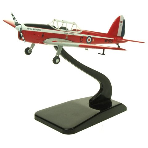 DHC1 Chipmunk T10 Royal Air Force red / white WP962 C S/L Cowan, 1:72 with stand