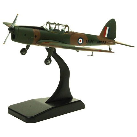 DHC1 Chipmunk British Army Air Corps WP984 camouflage olive / brown 1:72 with stand