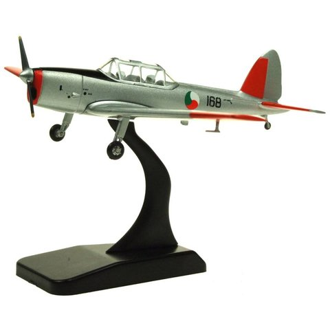 DHC1 Chipmunk Irish Air Corps 168 silver/orange 1:72 with stand