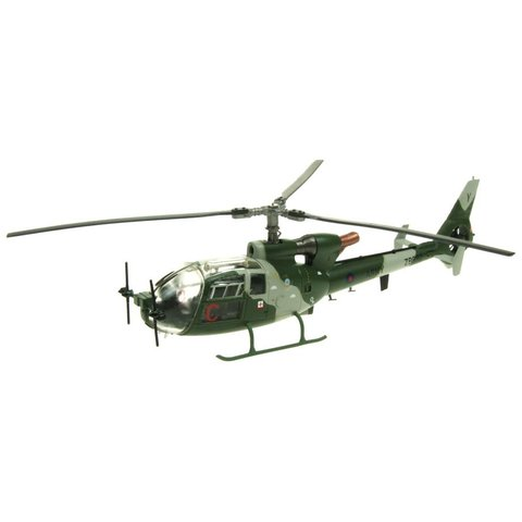Gazelle AH1 British Army ZB692 Middle Wallop current livery 1:72 with stand