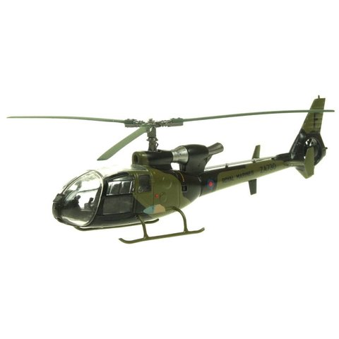 Gazelle AH1 Royal Marines 3CBS ZA730/F Grant Falklands 1982 camouflage 1:72 with stand