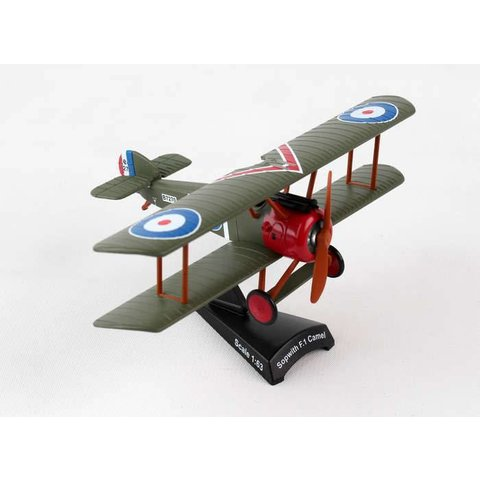 Sopwith Camel RFC Roy Brown 1:63 with stand
