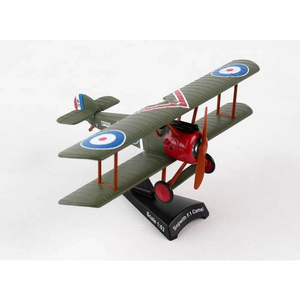 Postage Stamp Models Sopwith Camel RFC Roy Brown 1:63 with stand