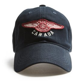 Red Canoe Brands Cap Canada Air Service navy