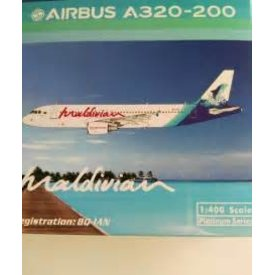 Phoenix A320 Maldivian 8q-Ian 1:400