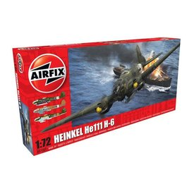 Airfix AIRFI HE111H-6 1:72 NEW TOOL 2017