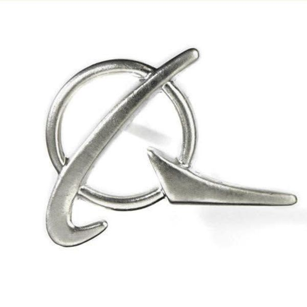 Boeing Store PIN BOEING SYMBOL SILVER