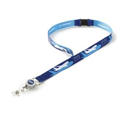 Boeing Store 787 Dreamliner Shadow Graphic Lanyard