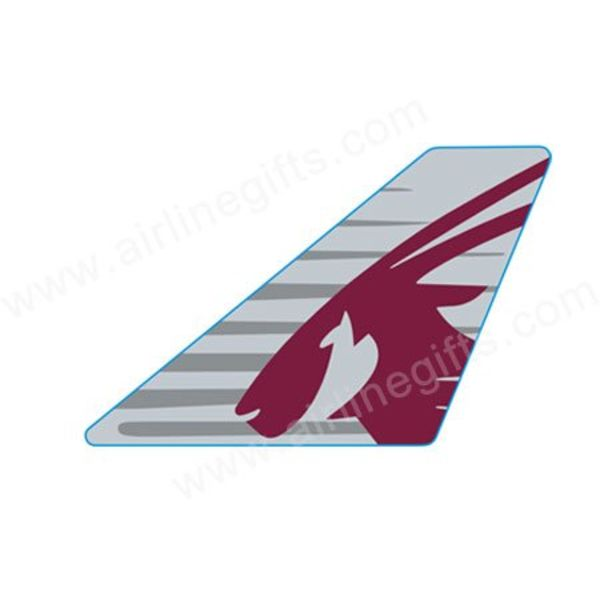 PIN QATAR TAIL