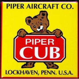 MAGNET PIPER CUB