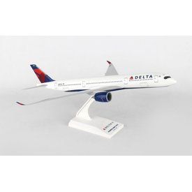 SkyMarks A350-900 Delta 2007 livery 1:200 with stand