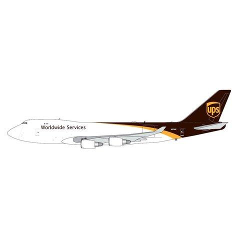 B747-400F UPS United Parcel Service 2016 Livery N572UP 1:400